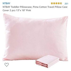 Other - Set of 2 Toddler Sized Pillowcases